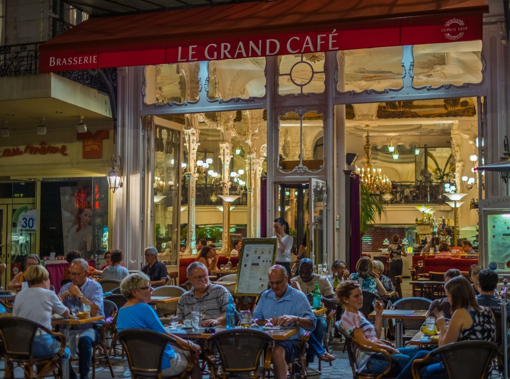 Le Grand Cafe, another place to enjoy an evening in Moulins