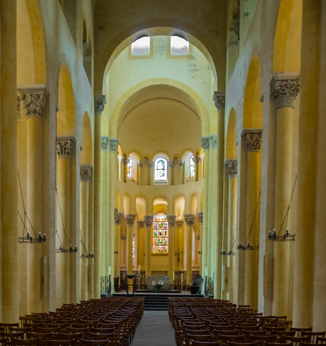 Notre Dame du Port in Clermont-Ferrand