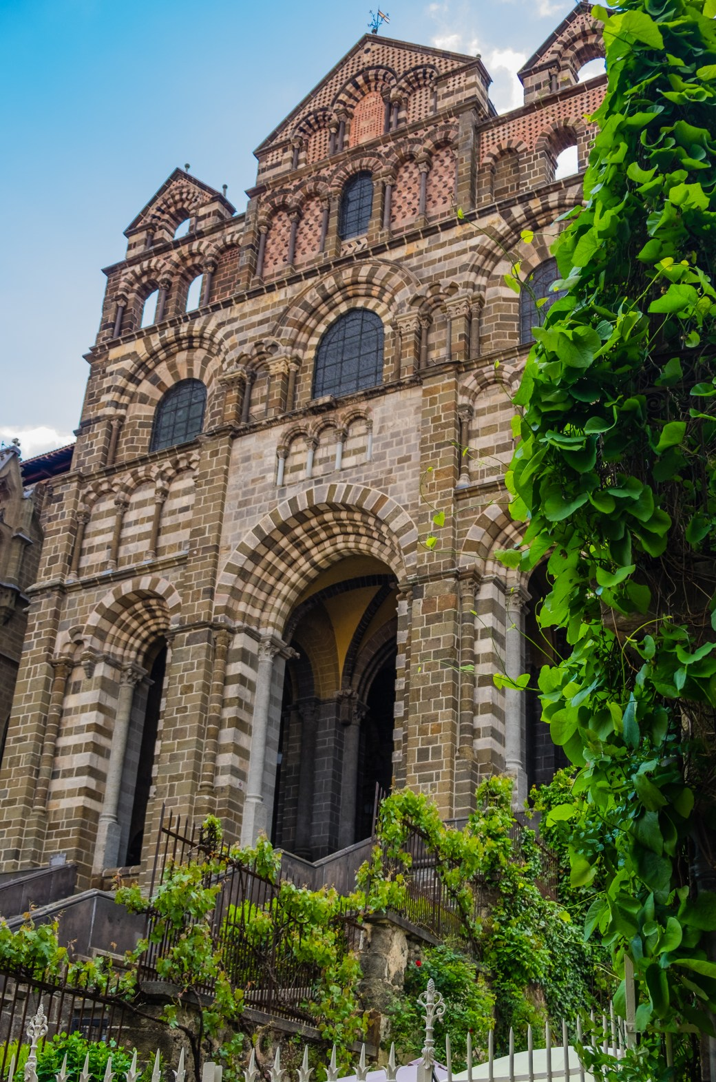 Cathedral at Le Puy en Velay