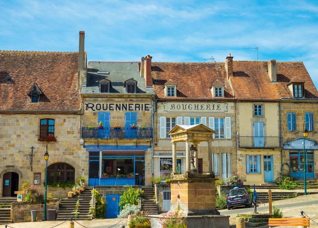 Souvigny Auvergne Bourbon Bourbonnais France French Travel Medieval