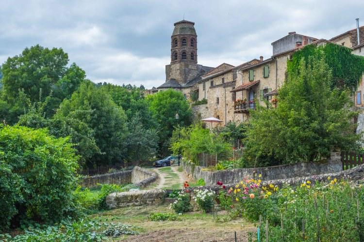 Lavaudieu Auvergne Medieval Abbey