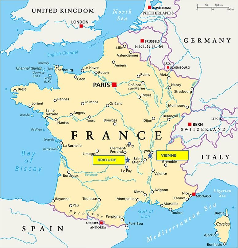 Brioude Vienne Auvergne
