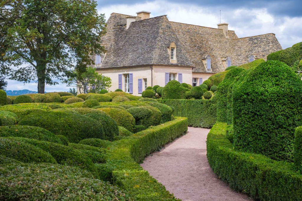 Marqueyssac Dordogne Perigord Gardens France