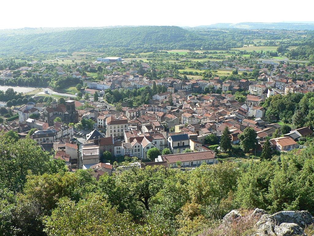 Volvic Auvergne Lava Architecture France