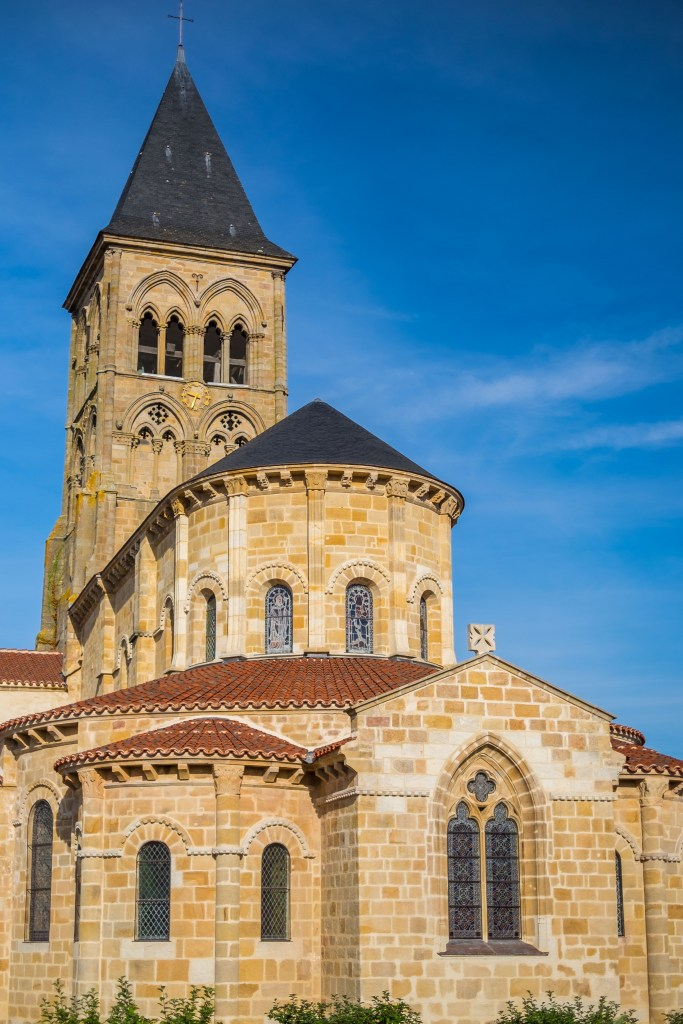 Cathedral Basilica Church Eglise France Auvergne Limousin Dordogne