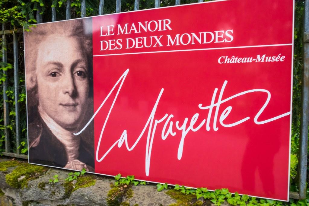 Lafayette Hamilton Chavaniac Auvergne Haute-Loire France History Revolution