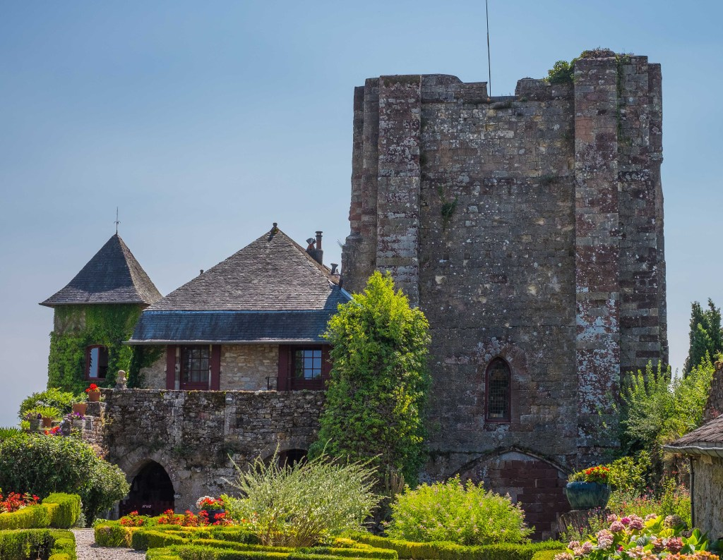 Turenne Corrèze France Auvergne Dordogne Chateau Castle