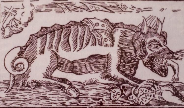 Auvers Gevaudan Haute-loire Auvergne France Wolf Wolves