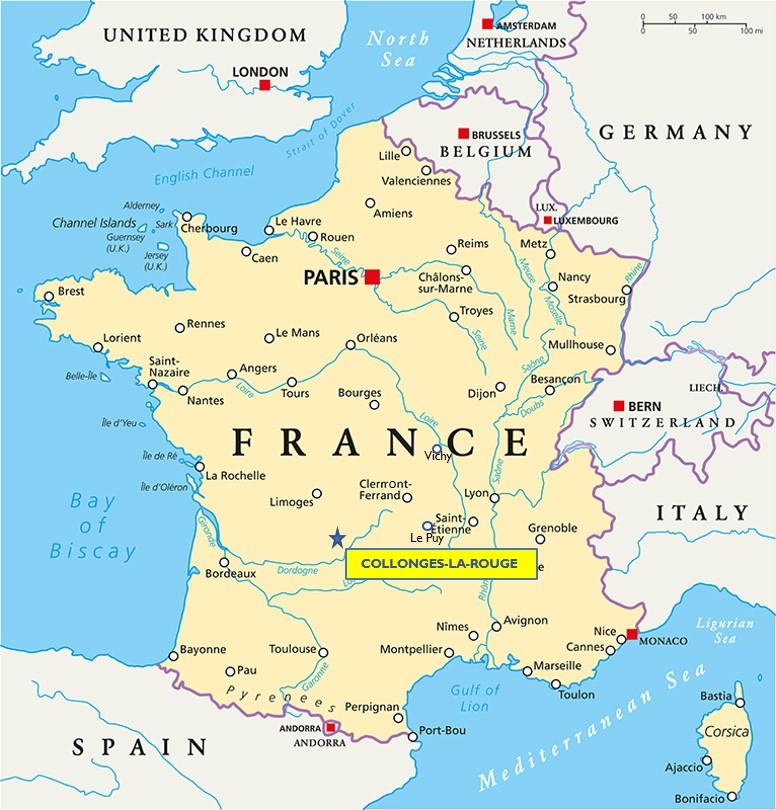 COLLONGES-LA-ROUGE COLLONGES FRANCE CORREZE