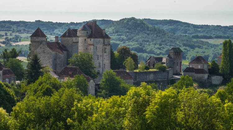 Curemonte Corrèze France Dordogne Medieval Europe Turene Castle Chateau