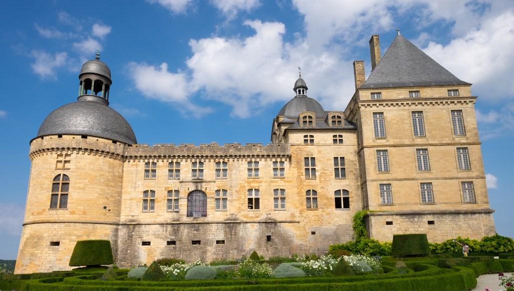 Hautefort Dordogne France Castle Chateau