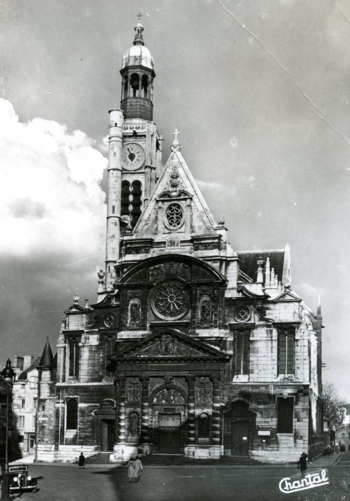 Paris Church Archteciture France Auvergne