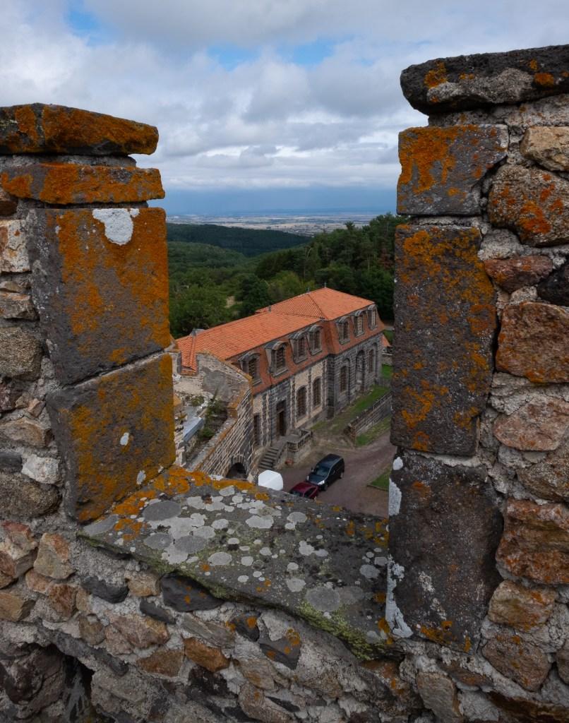 Chazeron Chateau Castle France Auvergne