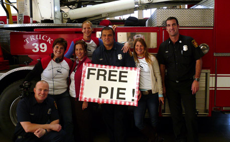 Free Pie for First Responders