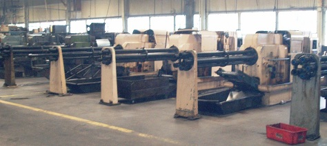 MULTI-SPINDLE WARNER & SWASEY SCREW MACHINES