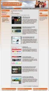 Websites Portfolio Page