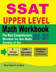 500 math practice problems for the ssat middle