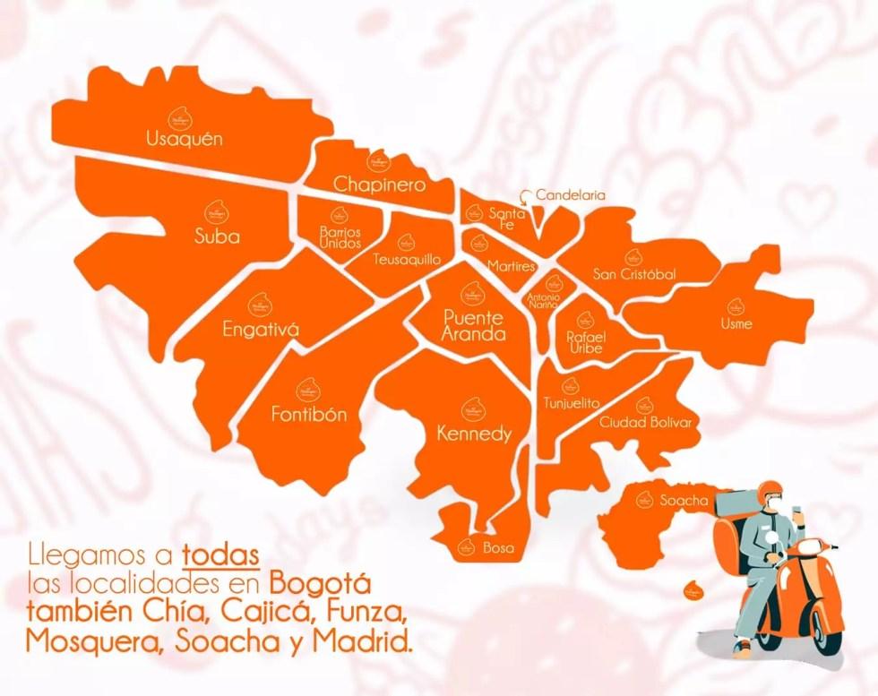 Llegamos a todas las localidades de Bogotá. El Merengón, Bogotá.
