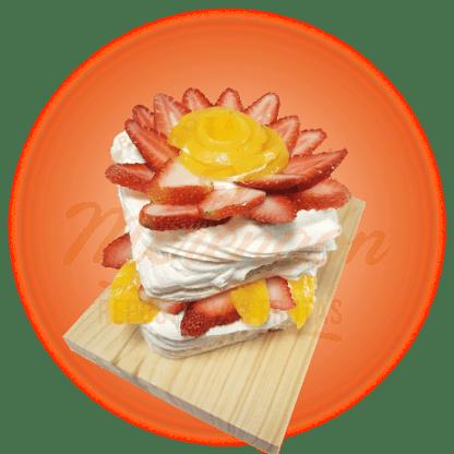 Merengón Fresa / Kiwi / Melocotón