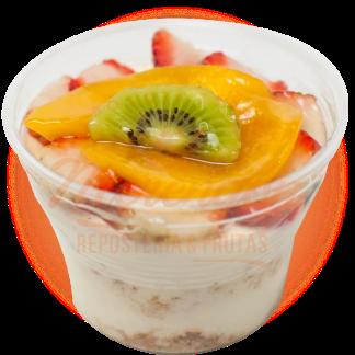 Vasito cheesecake frutas