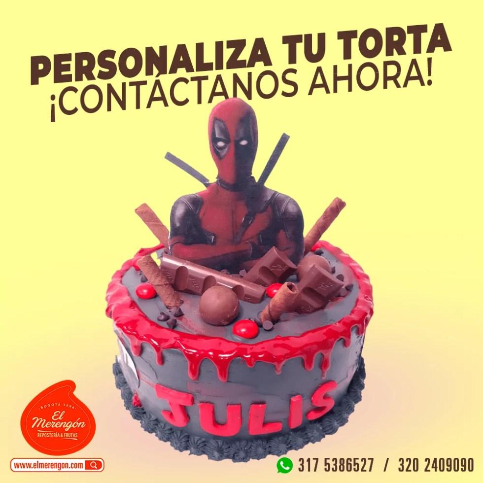 Torta Deadpool, El Merengón