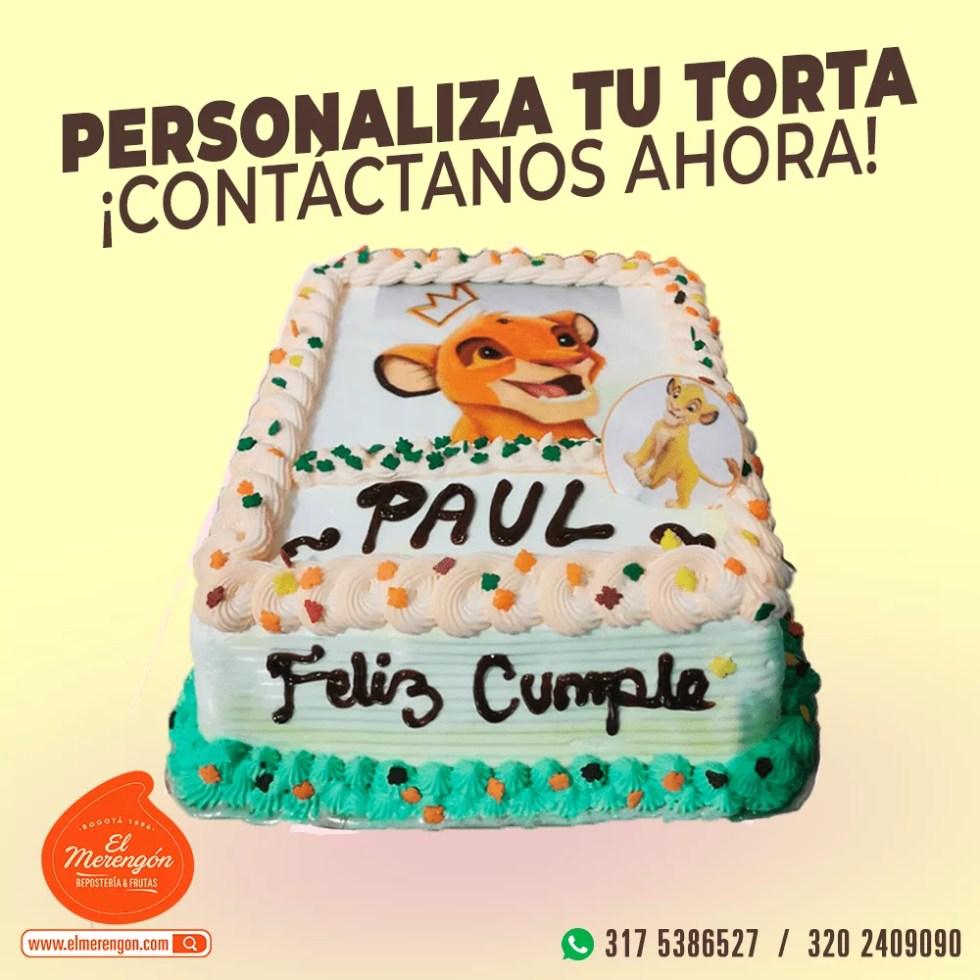 Torta Simba, El Merengón