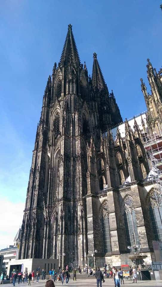 1) Visit the Cologne Cathedral