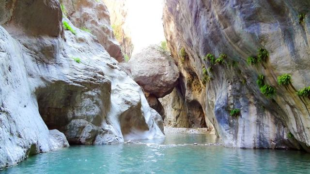 Canyoneering in Turkey