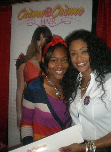 Tami Roman and Curls by Roman