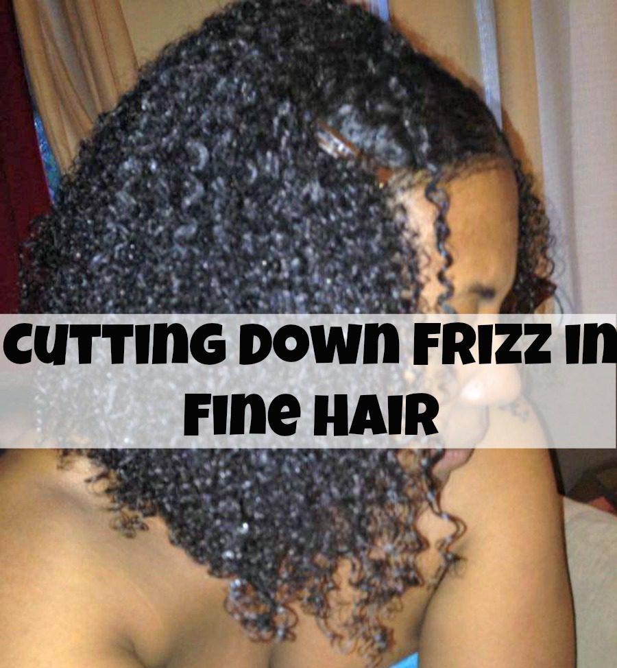 methods cutting frizz