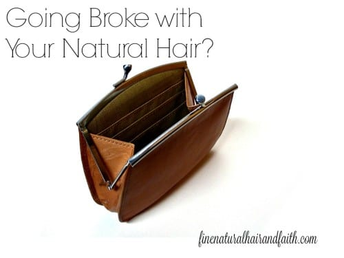 natural hair too expensive