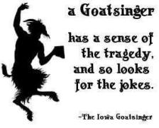 The Iowa Goatsinger Logo