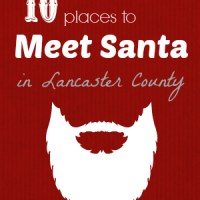 10 Places to Meet Santa in Lancaster County