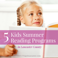 5 Kids Summer Reading Programs in Lancaster County