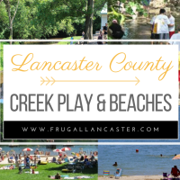 Creek Play, Lakes and Beaches in Lancaster County