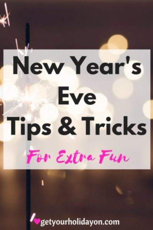 If you're getting ready for a New Year's Eve celebration you DEFINITELY don't want to miss this post. There is something for everybody here. :-D A lot of Tips & Tricks for a fun filled evening and a great way to bring in the New Year.