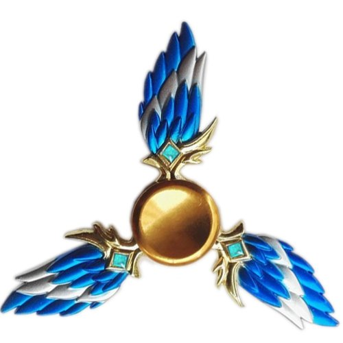 Wings Fidget Spinner that will help relieve anxiety in kids and adults.