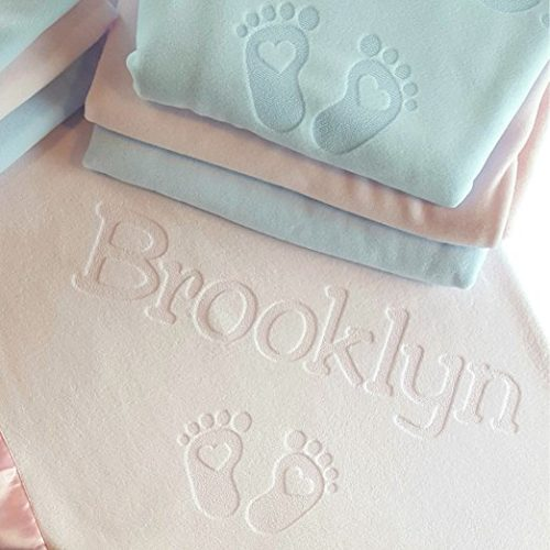 Personalized Newborn Baby Blanket is a perfect keepsake blanket for any little one. This would make a great baby shower gift idea.