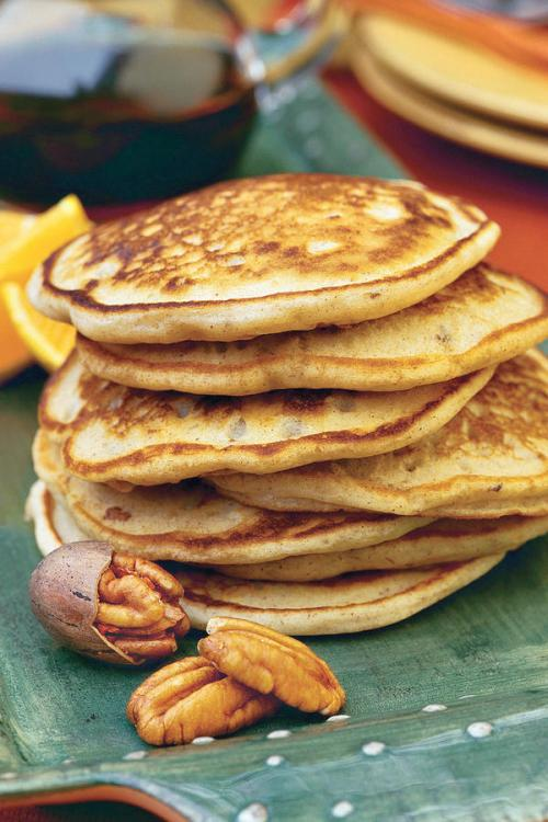 The perfect pancake to put on your Mother's Day breakfast menu.