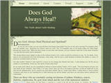 Does-God-Always-Heal.com