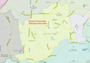 Murdock Elementary Attendance Zone Map