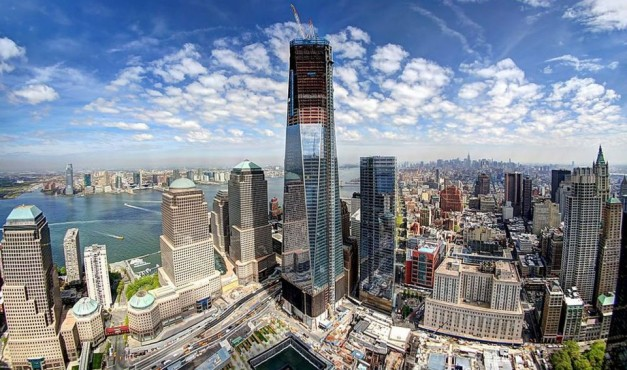 New York S Freedom Tower Tallest Building In The Americas