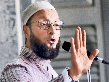 Owaisi was addressing a public meeting organized by All India Muslim Personal Law Board