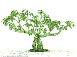 Internet marketing managers make money feel like it's growing on trees.
