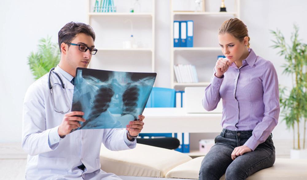 रोगजनक प्रक्रियाओं का पता लगाने के लिए छाती अंगों की रेडियोग्राफी का उपयोग किया जाता है