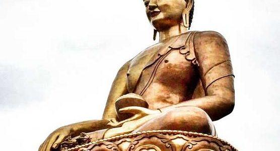 Bhutan Buddhist statue