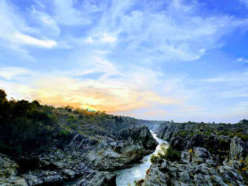 Dhuandhar Falls - Bhedaghat - Jabalpur - Madhya Pradesh