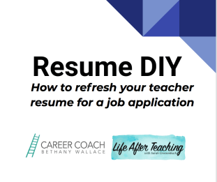 DIY Resume Refresh - Bethany Wallace and Sarah Greesonbach