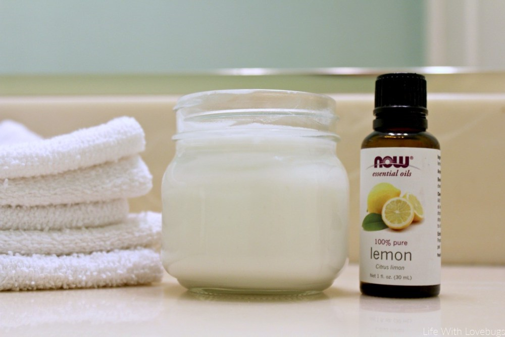 DIY Natural Soft Scrub Cream Cleanser