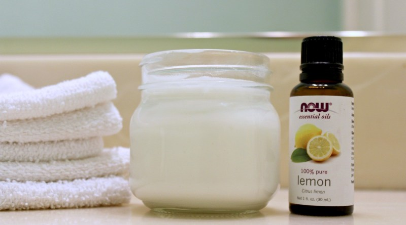 DIY Natural Soft Scrub Cream Cleanser